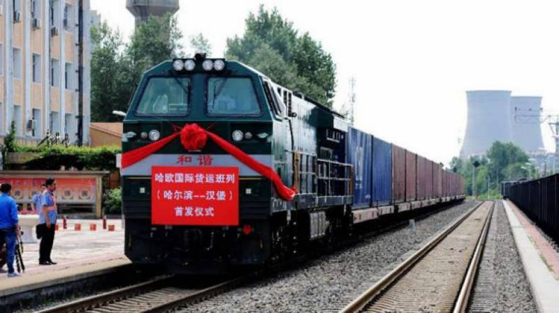 First cargo train under CPEC leaves China for Karachi