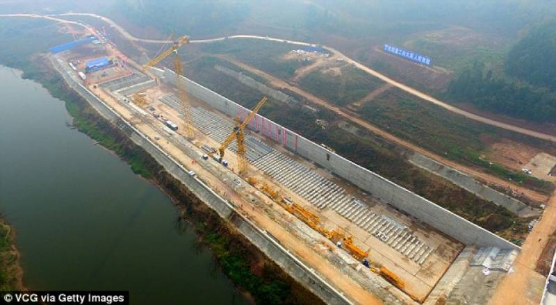 China begins construction on life-size Titanic replica