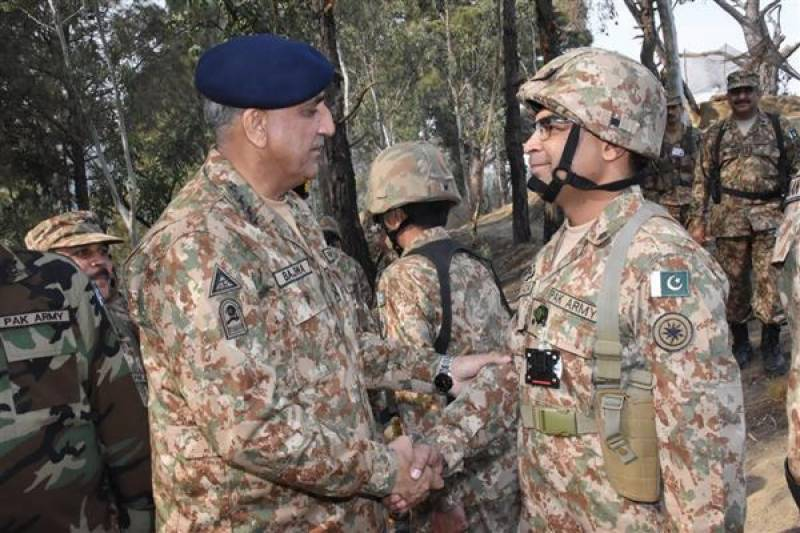 COAS lauds operational preparedness of troops along LoC