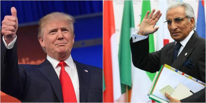 Pakistan's envoy Tariq Fatemi to visit US for meeting Trump's team