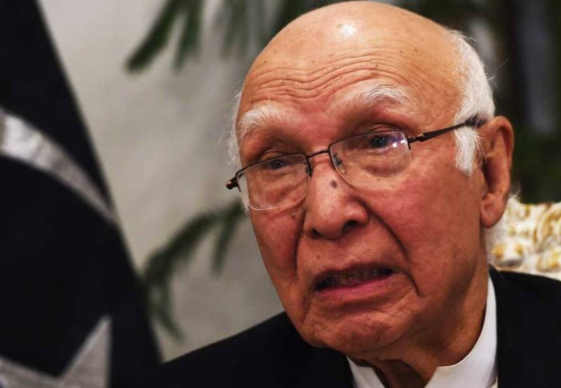 Sartaj Aziz to visit India for Heart of Asia conference