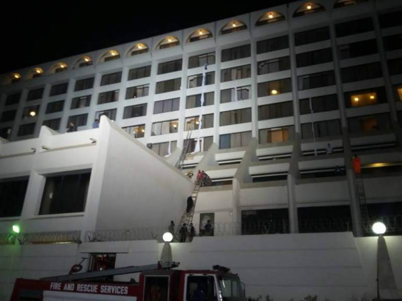 Karachi hotel fire: Hotel administration delayed the emergency response, claims police