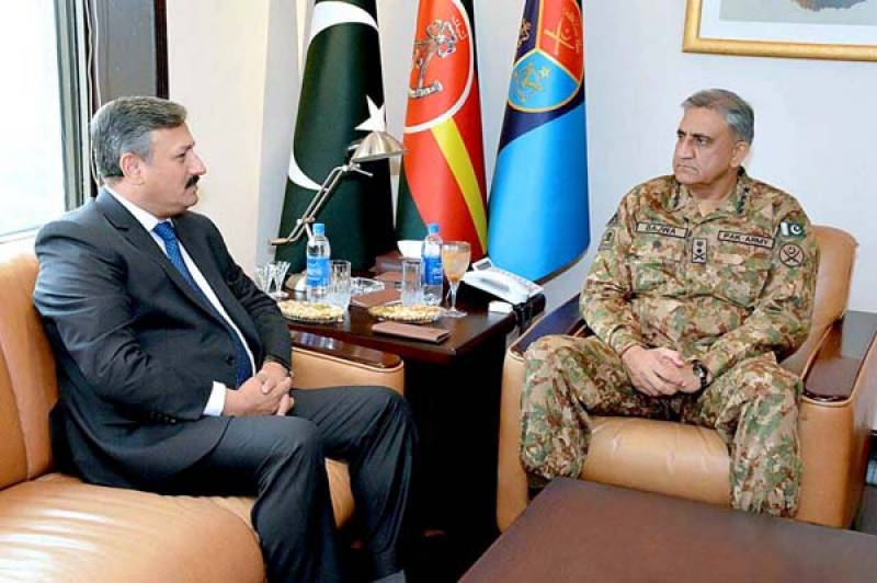 COAS lauds role of ISI in strengthening national defence, security