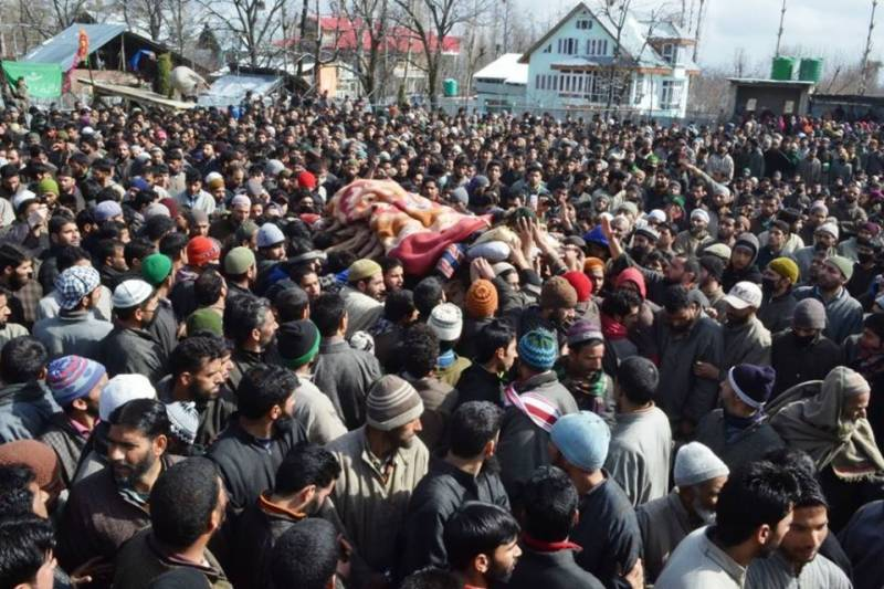 Indian forces have killed 94,594 Kashmiris since January 1989