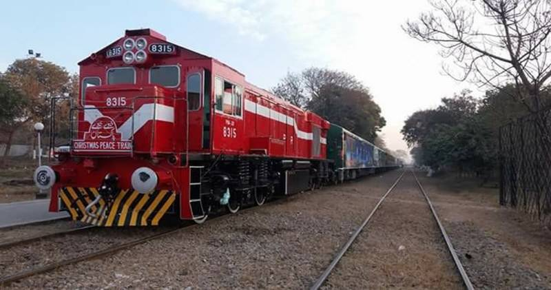 Pakistan to roll out special Christmas Peace Train tomorrow