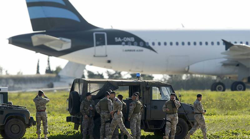 All passengers, crew members released from hijacked Libyan plane, hijackers asking for asylum in Malta