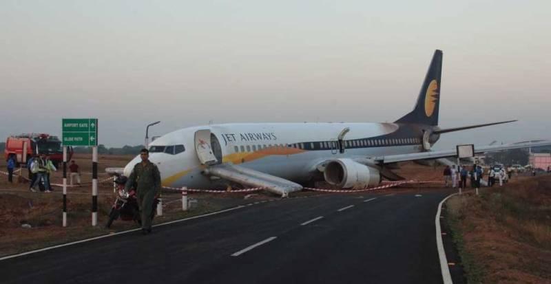15 injured as passenger plane skids off runway in India