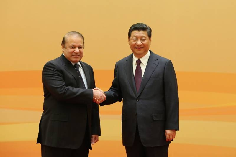 Chinese president wishes birthday to PM Nawaz, willing to work with him
