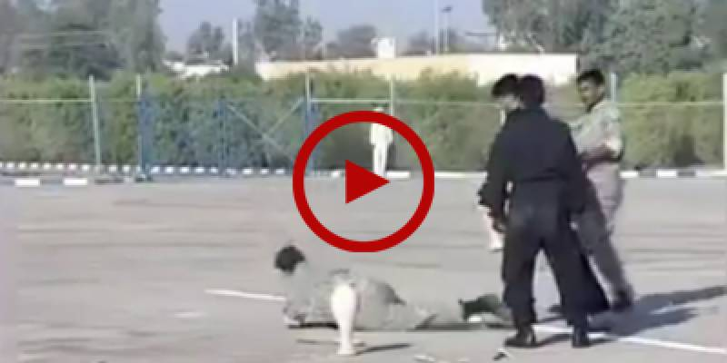 HILARIOUS: Iranian Army fails to break a vase in front of a huge crowd
