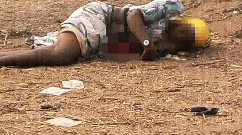 Nigerian female suicide bomber clubbed to death by angry mob