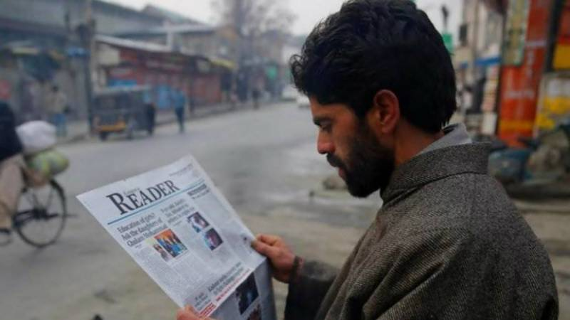 Kashmir Reader back on stands after three months of unjust ban by Indian government