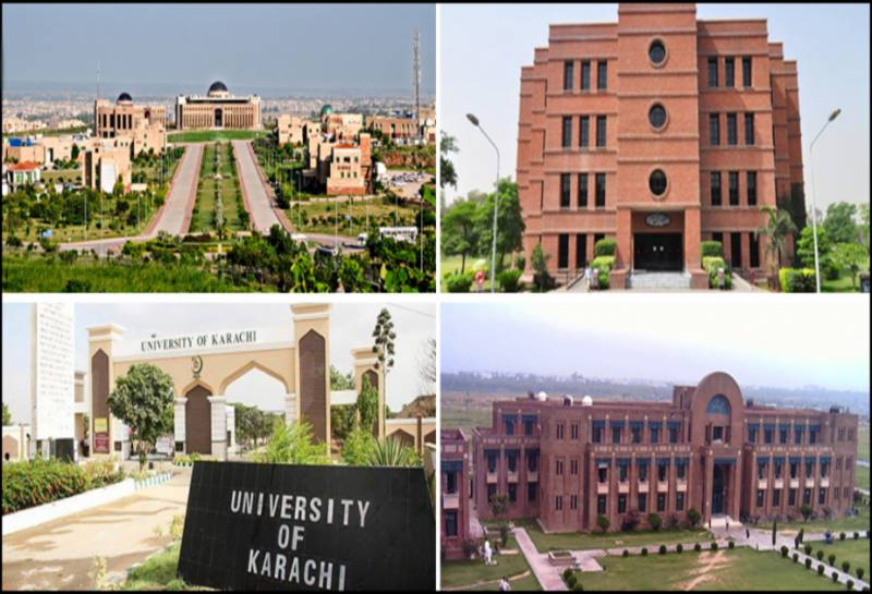 Why are Pakistani universities not getting in top ranks in world?