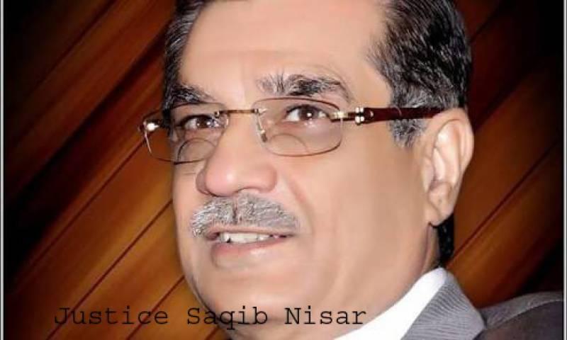Justice Saqib Nisar sworn in as 25th Chief Justice of Pakistan
