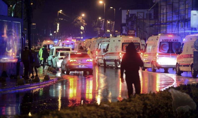 39 killed as nightclub attacked in Istanbul on new year's eve