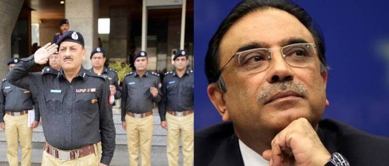 IG Sindh AD Khawaja set to resume charge as Asif Zardari gears up for leaving Pakistan