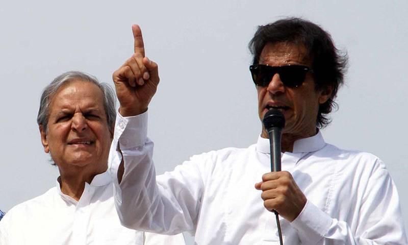 Imran hits back at Javed Hashmi, terms him 'mentally unfit'