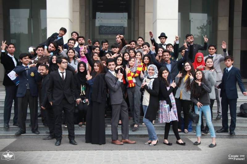 13th LUMUN Conference held at LUMS: 115 delegations from all over Pakistan!