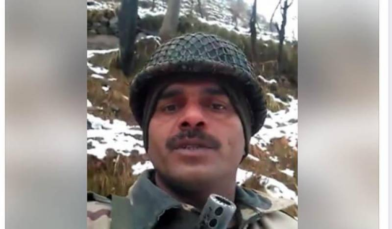 BSF soldier who revealed corruption in Indian army punished, made plumber