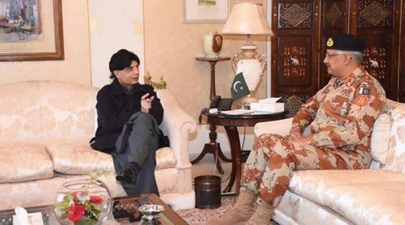 Interior minister assures DG Rangers of continued support for bringing peace in Karachi