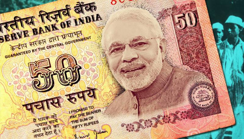 Is Narendra Modi going to replace Mahatma Gandhi on currency notes?