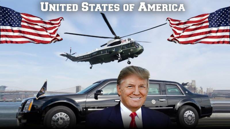 'The New Beast': Trump's new Presidential limo comes with tear gas cannon, kevlar tyres and armour plating - at a cost of $15m