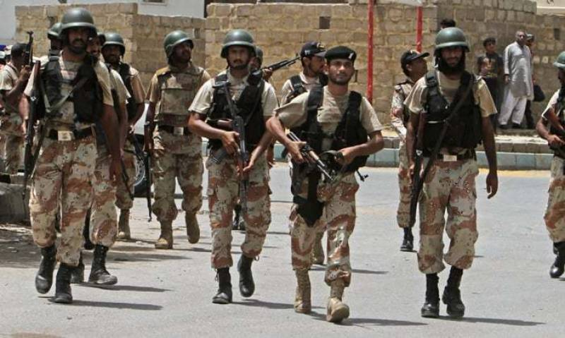Sindh govt prepares summary to extend Rangers' special powers