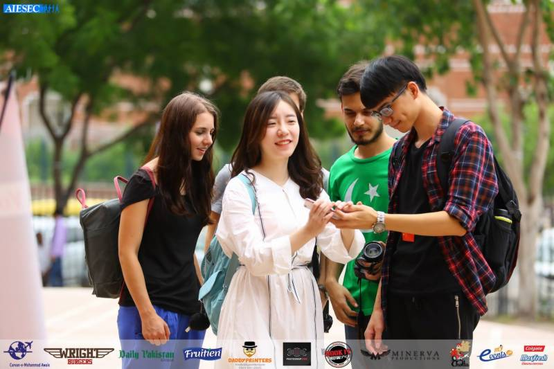 AIESEC Global Village brings together different nationalities in Lahore!