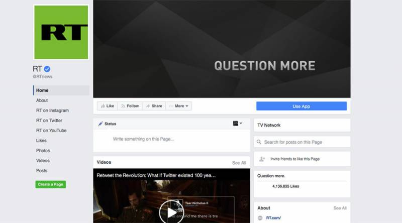 Obama's farewell press conference lands Russian television RT in trouble as its Facebook page blocked until after Trump's inauguration