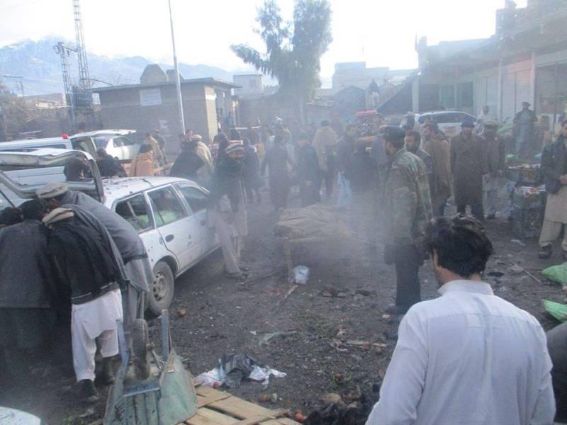 25 killed, 65 injured in Parachinar blast