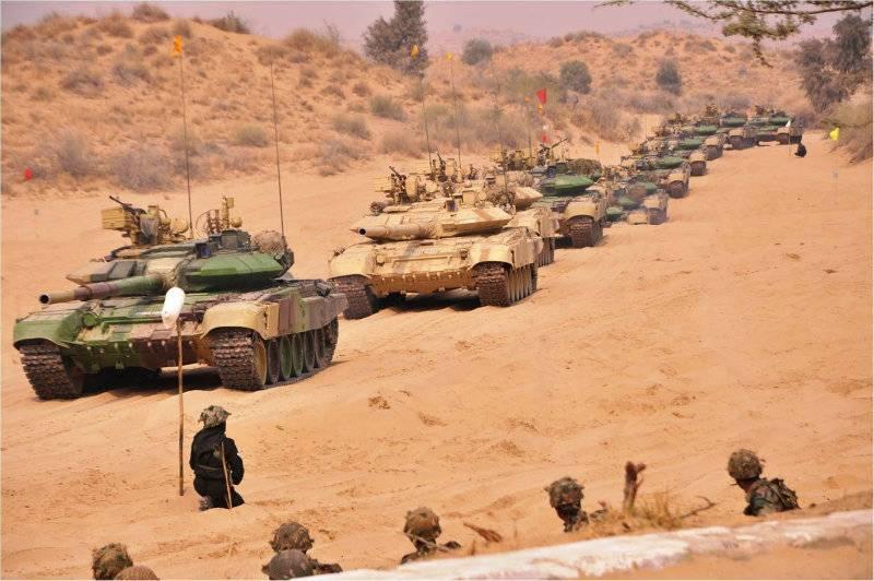 'Cold Start': India deploys hundreds of Russian-made battle tanks along Pakistan border