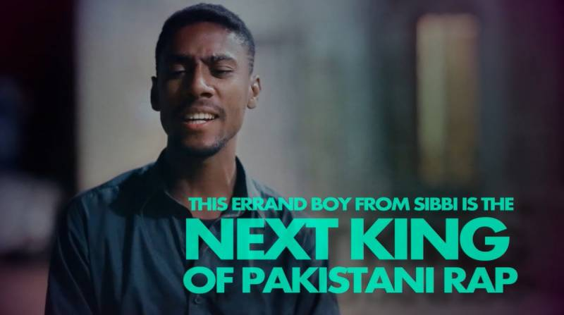 Patari have just found a Balochistani 'errand boy' Rapper , and made him a star