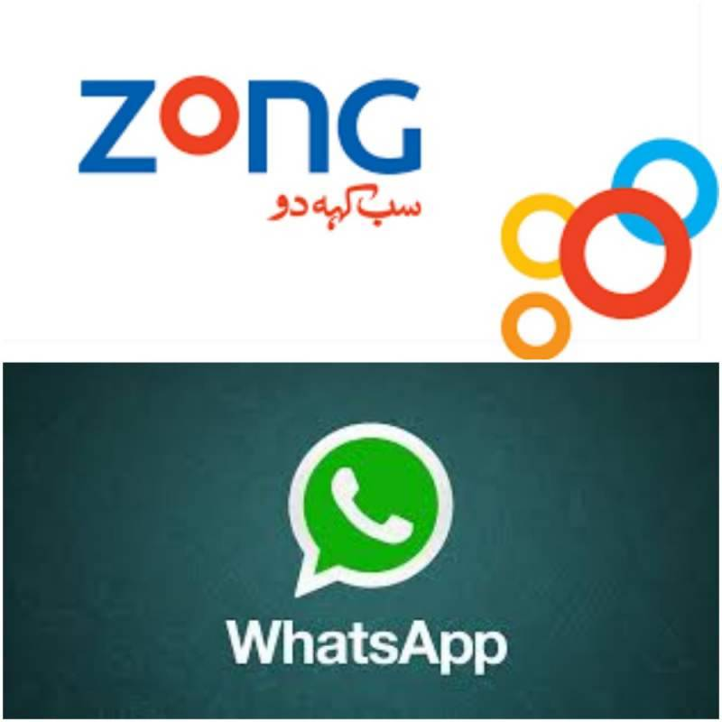 Zong together with Whatsapp launches special data bundle