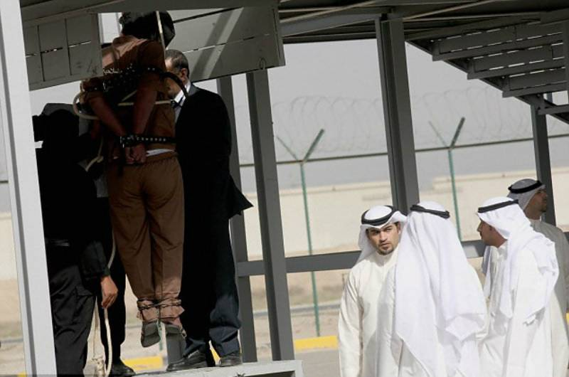 Prince among seven hanged in Kuwait for capital crimes