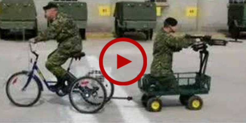 Hilarious bloopers from world's armies