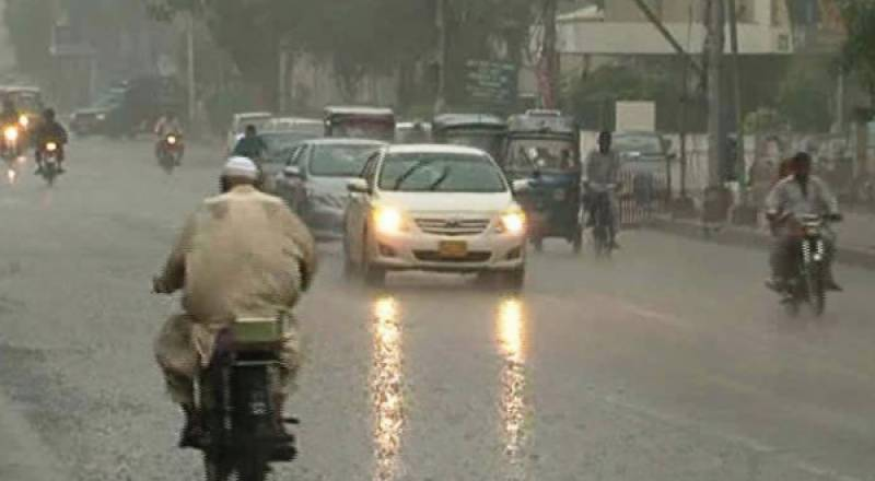 Intermittent rain with snow to lash scattered places of country in next 24 hours