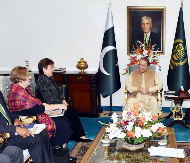 PM Nawaz meets World Bank delegation, urges to settle water dispute between Pakistan and India