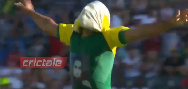 South African spinner Imran Tahir faces ire of ICC for paying tribute to Junaid Jamshed through his t-shirt