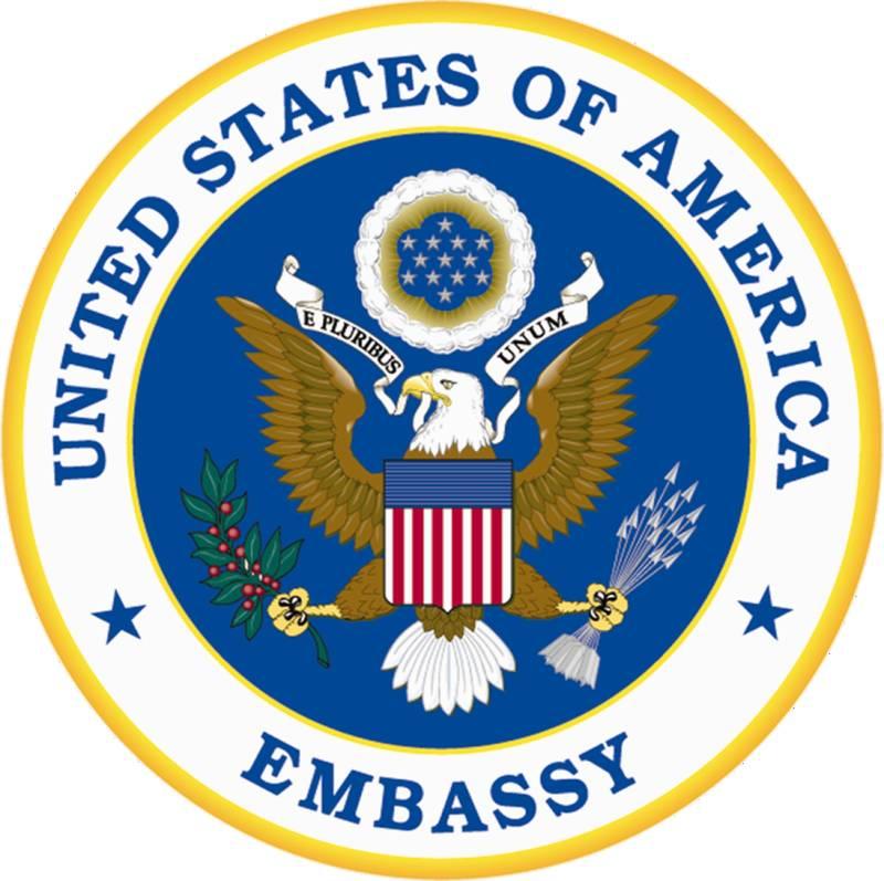 US embassy exhibits permanent art installation
