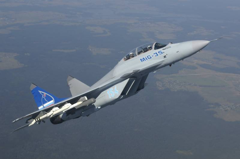 Russia unveils advanced 1,500mph MiG-35 fighter jet equipped with laser guns
