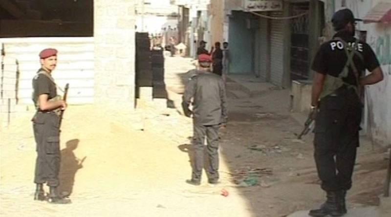 Robber burnt alive in Karachi's Landhi market
