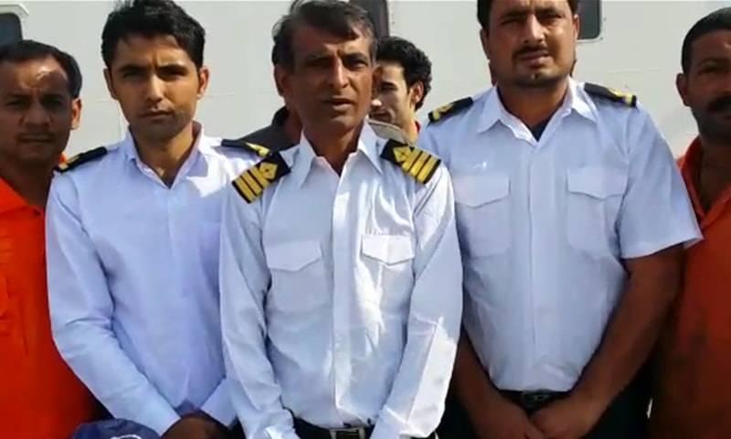 9 more Pakistani sailors stranded in Egypt return home