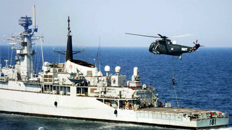 'Together for peace': Over 35 countries join Pakistan's Aman-17 naval exercise in Arabian Sea