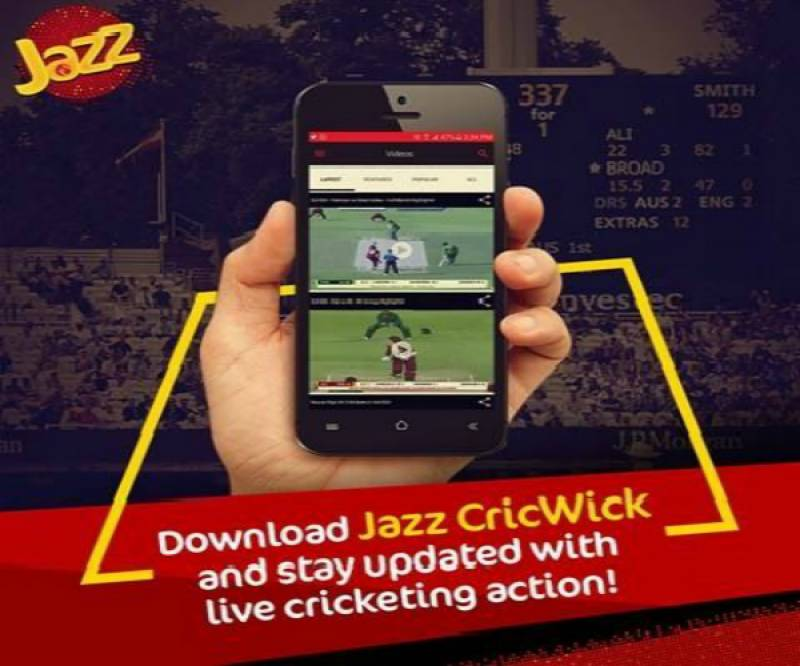 Jazz launches cricket app to keep fans up to date with matches from around the globe