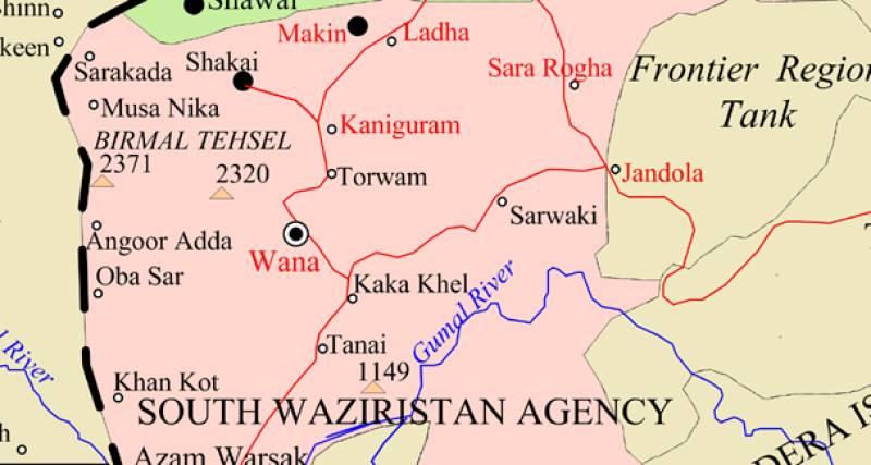 Three FC personnel killed in South Waziristan blast