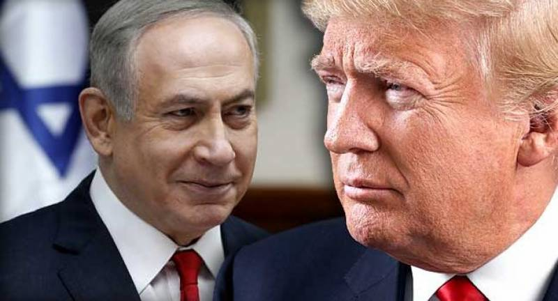 'Just hold off... a little bit': Trump backs away from US commitment to Palestinian state after meeting Netanyahu