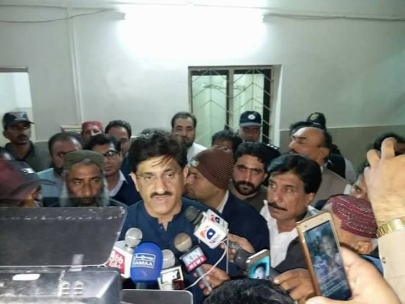 CM Murad Ali Shah visits injured at Sehwan hospital as Sindh observes three-day mourning