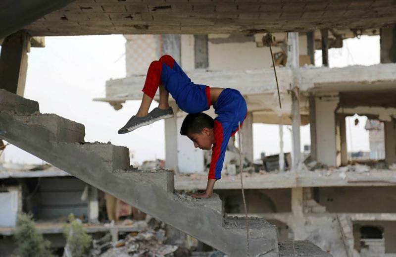 Meet Spider-Boy - the 13-year-old Palestinian who holds Guinness World Record for Most Full Body Revolutions