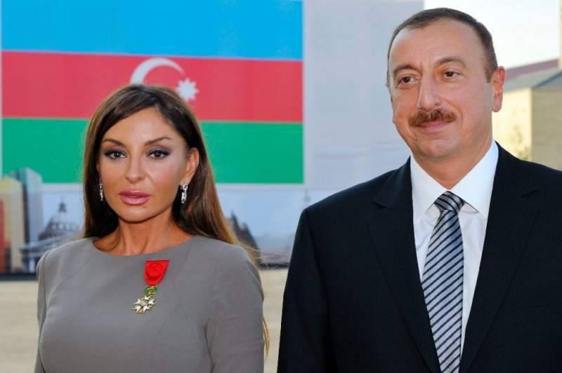 Azerbaijan President Ilham Aliyev makes his wife country's vice president
