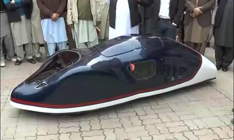 Pakistani students develop mini car that runs 180 km in 1 litre