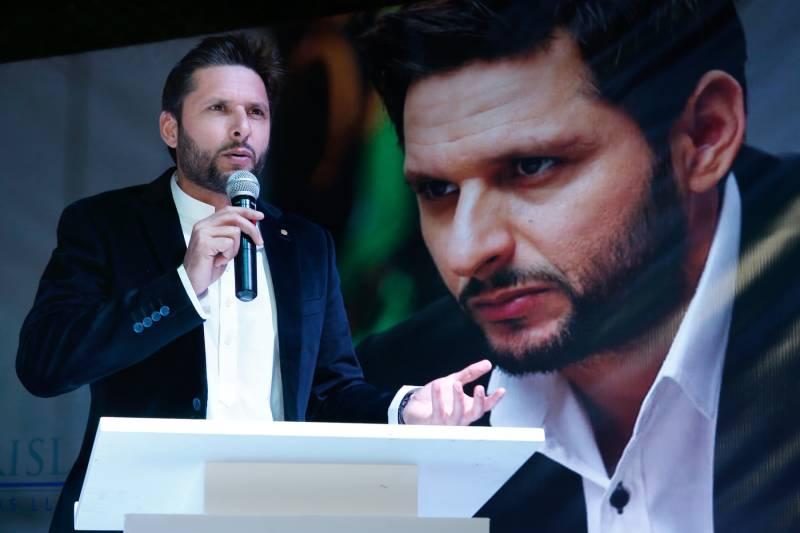 Shahid Afridi foundation's first fundraiser held in Dubai